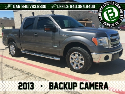 2013 13 Ford F-150 F150 2WD SuperCrew 145 XLT