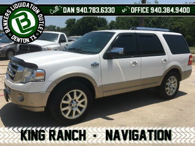 2013 13 Ford Expedition KING RANCH