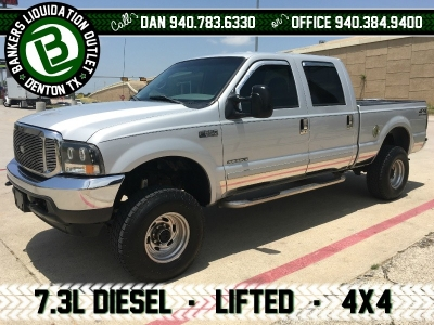 2002 Ford Super Duty F-250 7.3L F250 Crew Cab 4WD 4x4