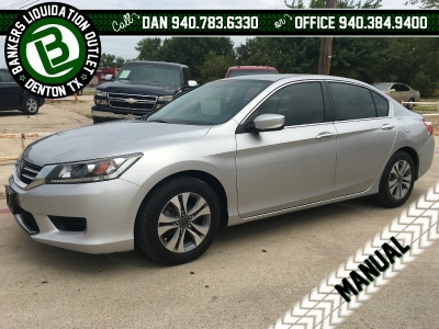 2014 Honda Accord Manual LX