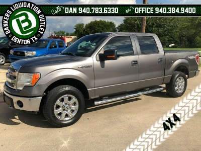 2014 Ford F-150 4WD SuperCrew F150 4x4 14