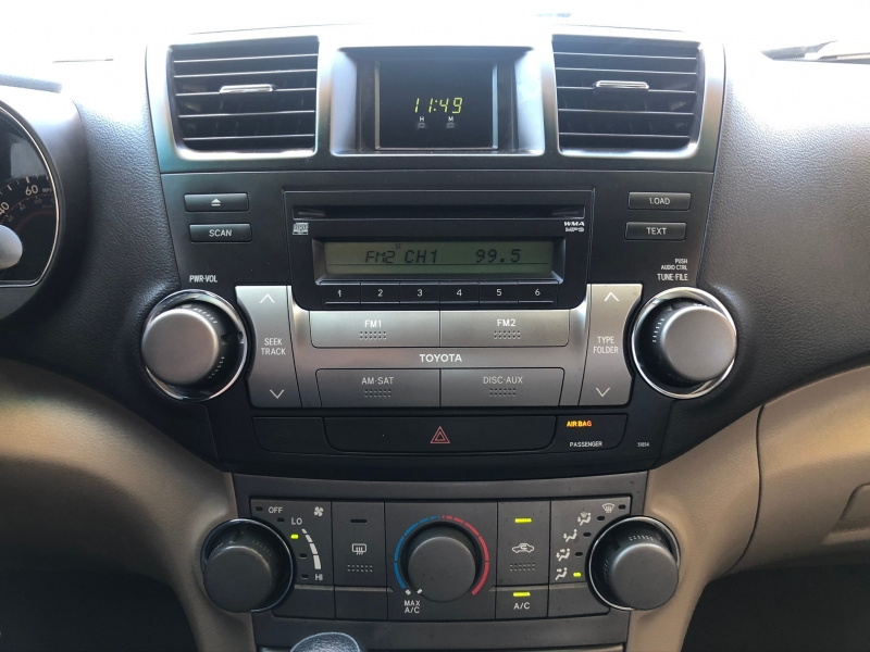 Toyota Highlander 2008 price Sold