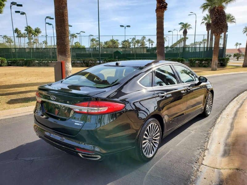 FORD FUSION 2018 price $16,600
