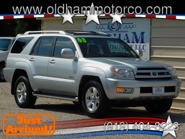 Exceptional 2003 Toyota 4Runner