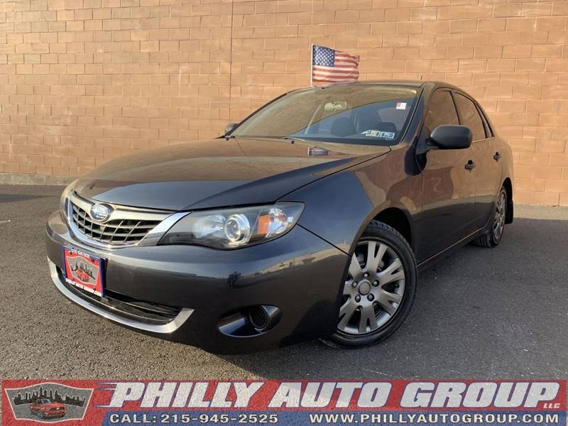 Subaru Impreza Sedan (Natl) 2008 price $5,775