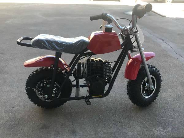 40cc Monster Mini Bike  2018 price $330