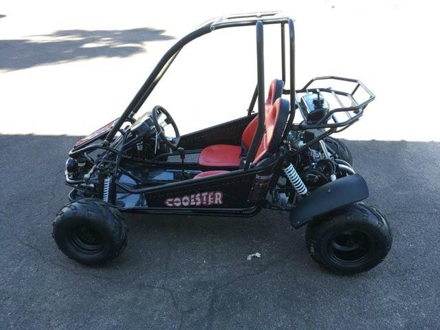 2018 - Coolster 125 GO Kart