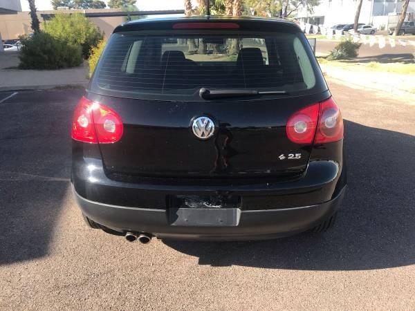 Volkswagen Rabbit 2007 price $3,500