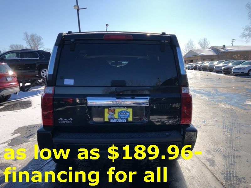 Jeep Commander 2008 price $10,300