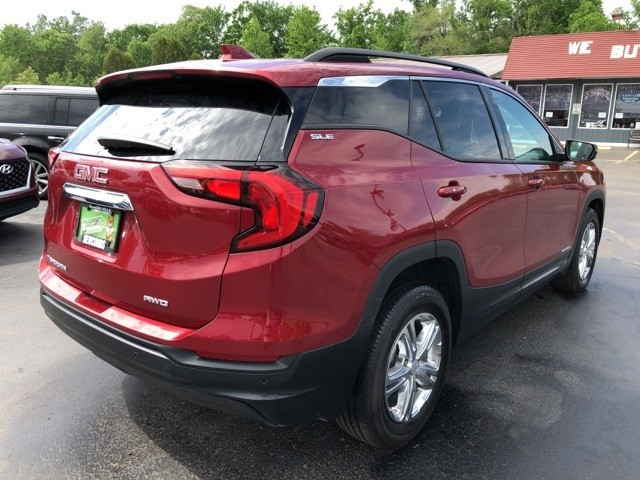 GMC Terrain 2018 price $21,600