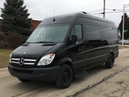 Mercedes-Benz Sprinter Passenger Vans 2012