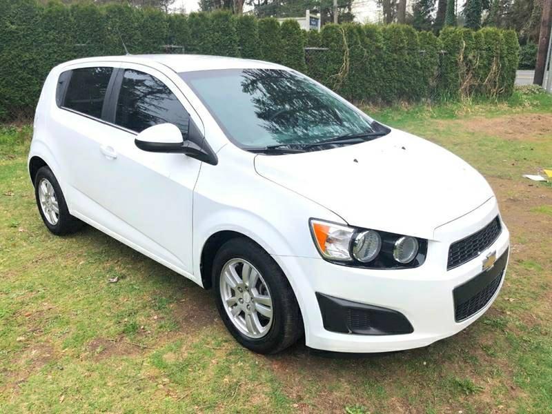 Chevrolet Sonic 2013 price $5,850