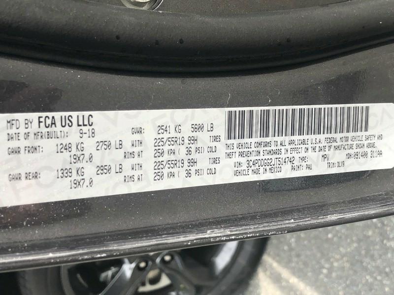 Dodge Journey 2018 price $20,995
