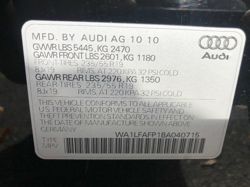 Audi Q5 2011 price $12,395