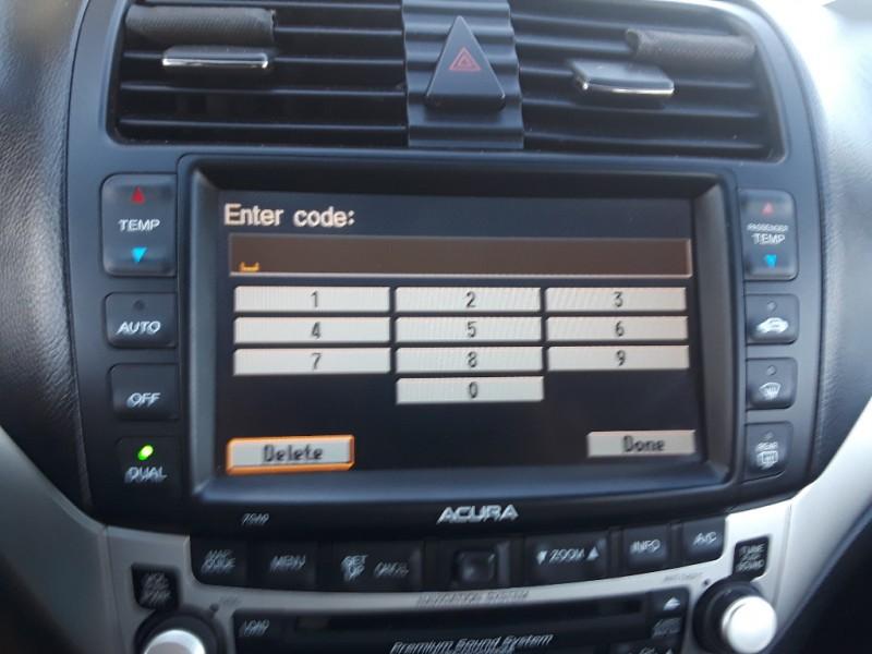 Acura TSX Dr Sport Sdn Manual WNavigation Lot Auto - 2004 acura tsx navigation