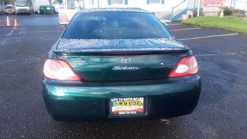 Toyota Camry Solara 2002 price $5,295