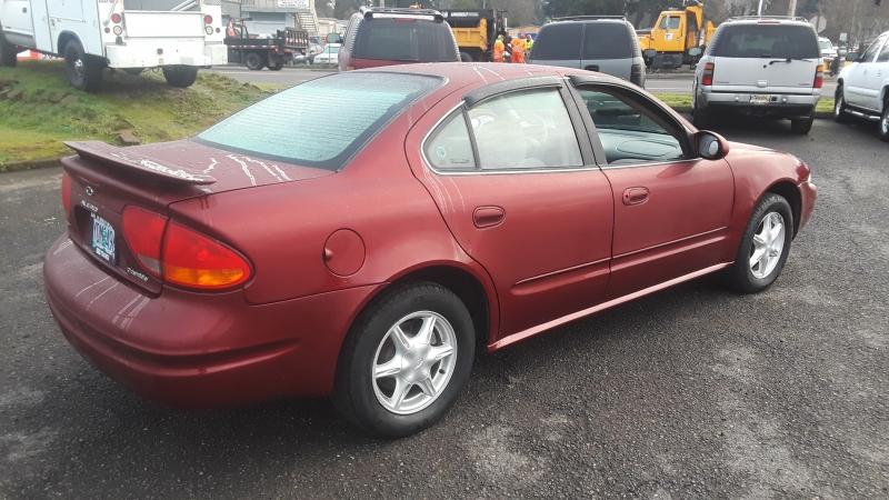 Oldsmobile Alero 2001 price $3,495
