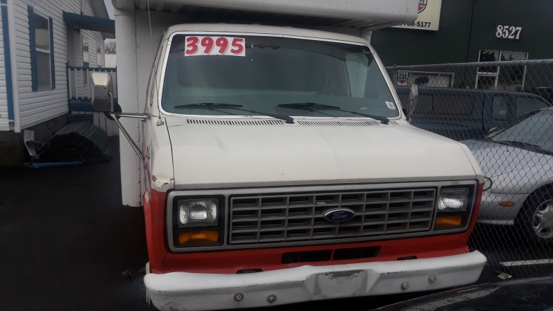 Ford Econoline Commercial Chassis 1987 price $3,995