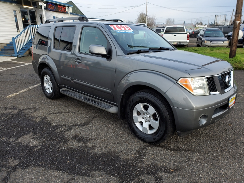Nissan Pathfinder 2007 price $7,495