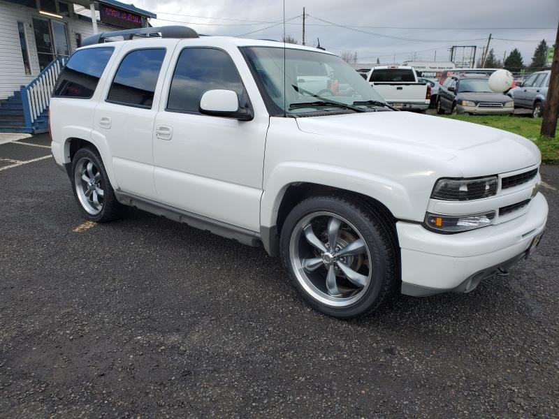 Chevrolet Tahoe 2002 price $4,595