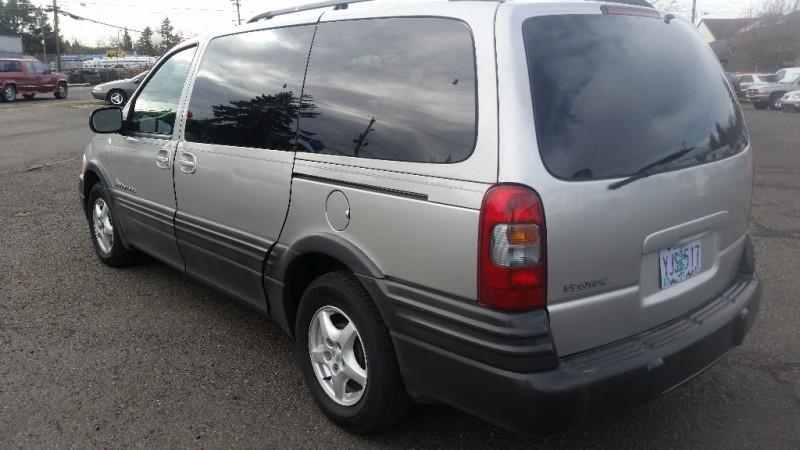 2005 Pontiac Montana 4dr Ext Wb W 1sa Pkg Warranty
