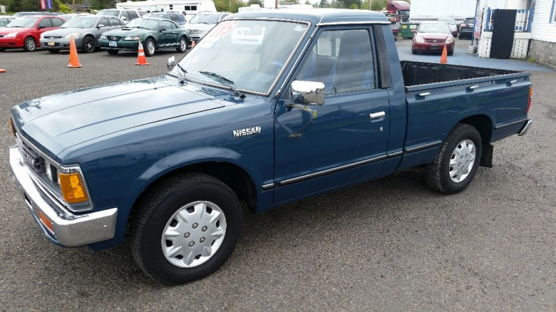Honda Dealership Portland >> 1984 Nissan Pickup Std Long Bed Auto (WARRANTY AVAILABLE ...