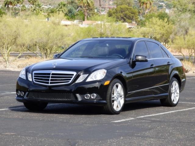 2010 Mercedes-Benz E 550 Luxury