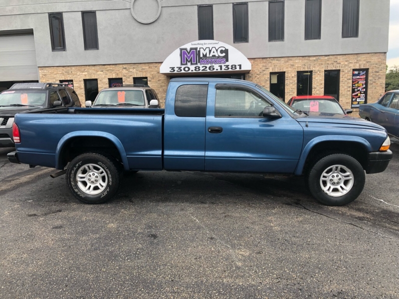 2003 DODGE DAKOTA 4X4