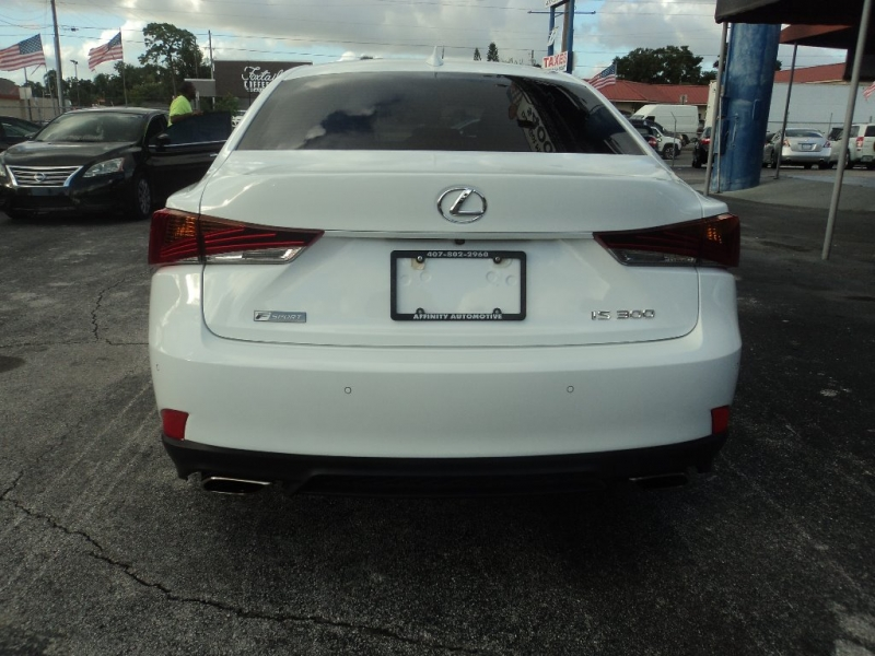 Lexus IS 2018 price $31,995