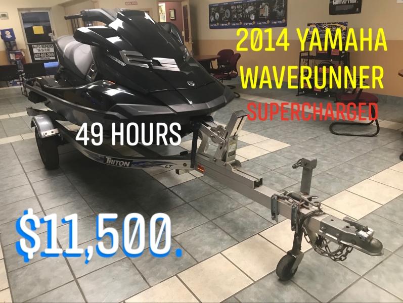 Yamaha Wave Runner 2014 price $9,999