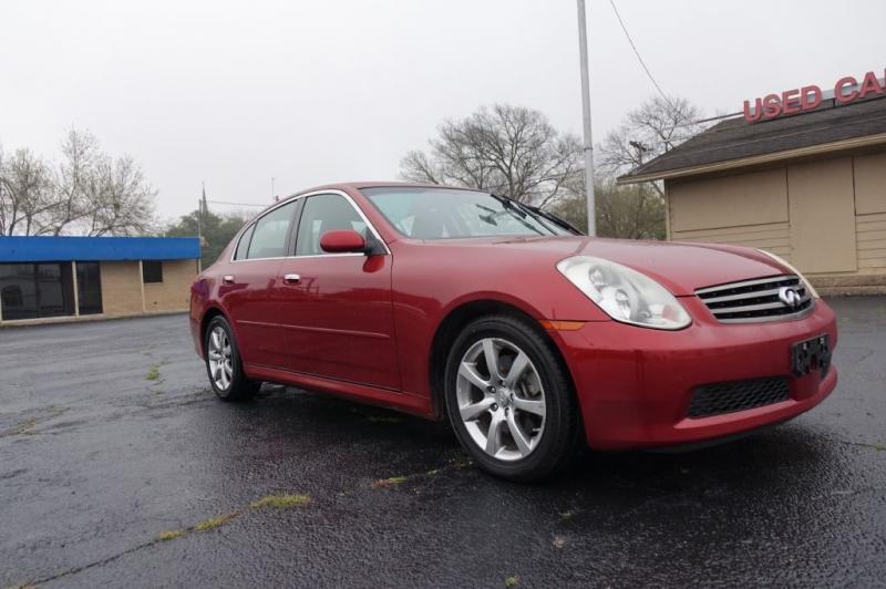 INFINITI G35 2006 price $4,500