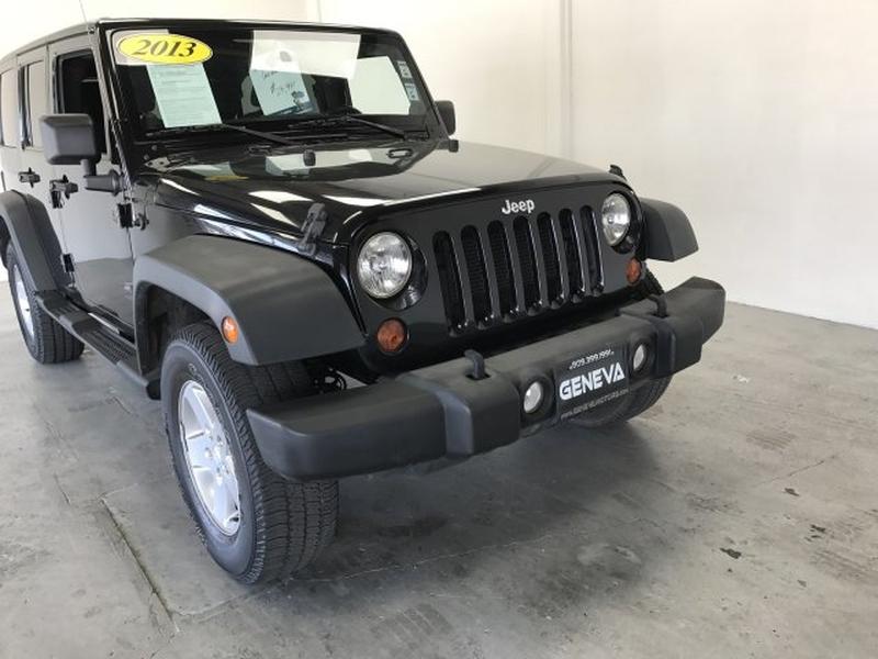 Jeep Wrangler Unlimited 2013 price $25,995