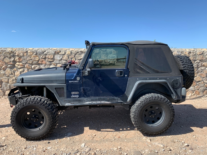 Jeep Wrangler 2005 price $13,250