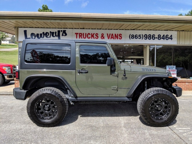 Jeep Willys 2015 >> 2015 Jeep Willys 4wd 2dr Willys