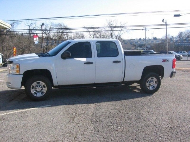 2008 chevrolet silverado 2500hd 4wd crew cab 153 work truck inventory lowerys auto. Black Bedroom Furniture Sets. Home Design Ideas