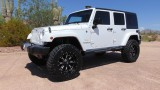Jeep Wrangler Unlimited Lifted/Wheels/Tires 2015