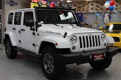 2015 Jeep Wrangler Unlimited Rubicon 4x4 4dr SUV
