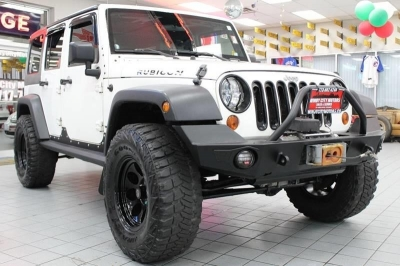 2009 Jeep Wrangler Unlimited Rubicon 4x4 4dr SUV w/ Front Side Airbags