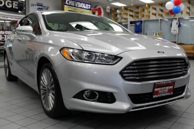 2015 Ford Fusion Titanium 4dr Sedan
