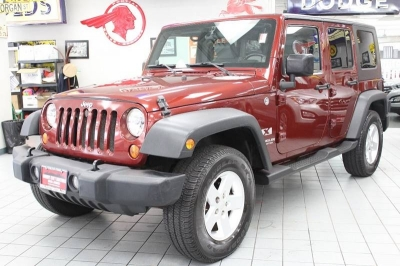 2007 Jeep Wrangler Unlimited X 4x4 4dr SUV
