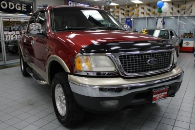 2001 Ford F-150 XLT 4dr SuperCrew 4WD Styleside SB