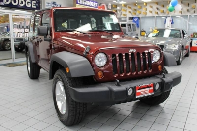 2010 Jeep Wrangler Unlimited Sport 4x4 4dr SUV