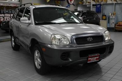 2004 Hyundai Santa Fe Base Fwd 4dr SUV