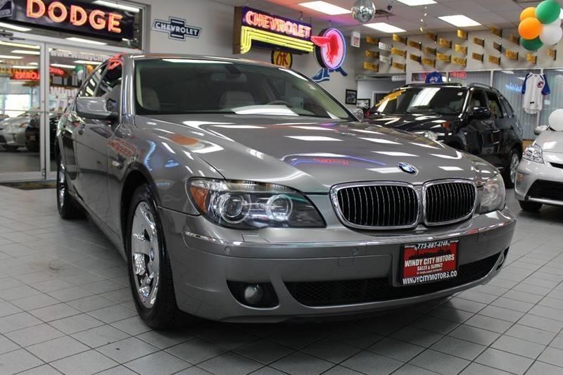 2006 BMW 7 Series 750i 4dr Sdn