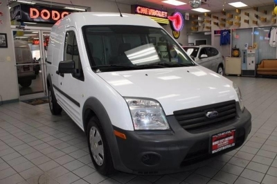 2011 Ford Transit Connect 114.6 XL w/o side or rear door glass