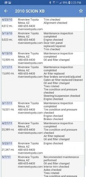 SCION XB 2010 price $6,699
