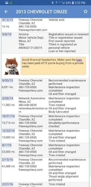 CHEVROLET CRUZE 2013 price $7,099