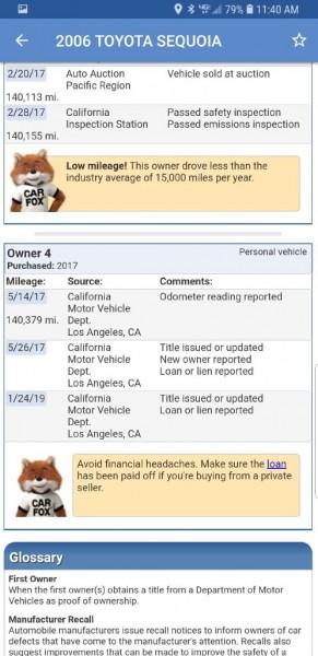 TOYOTA SEQUOIA 2006 price $7,299
