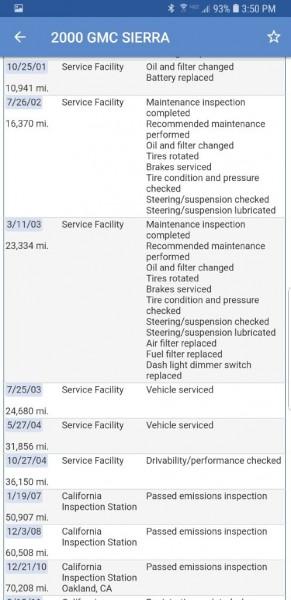 GMC NEW SIERRA 2000 price $8,399
