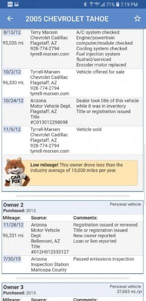 CHEVROLET TAHOE 2005 price $5,649